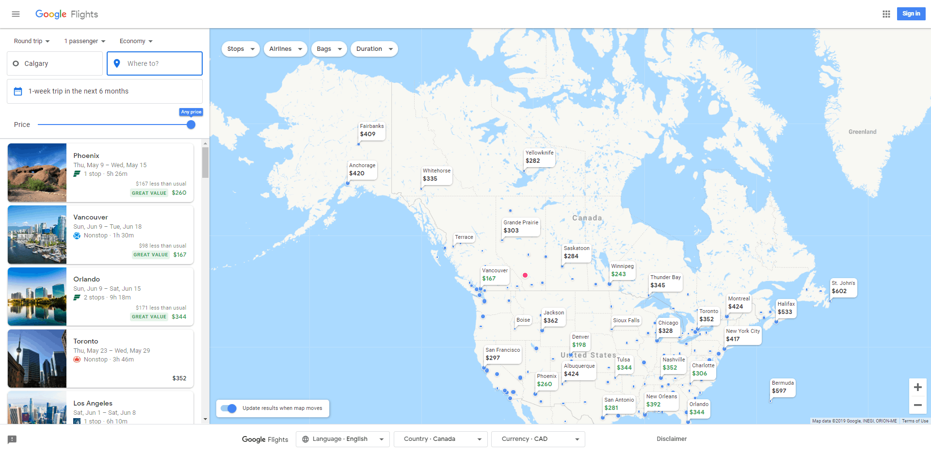 3. The Explore Map