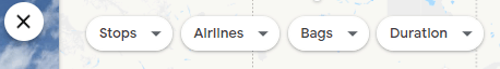 8. Explore map filters